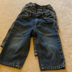 Two pair children's place jeans size 18 months